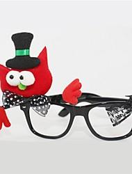Недорогие -Куки-аниме Очки Хэллоуин День детей Фестиваль / праздник Костюмы на Хэллоуин Красный Мода