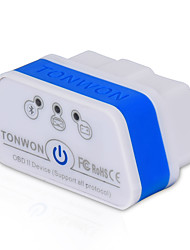 TONWON 2 BT3.0 ELM327 OBD2 Diagnostic Scanner Bluetooth3.0 Check Car Engine Support All OBDII Protocols for Android