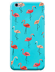 cheap -For iPhone 7 iPhone 7 Plus Case Cover Shockproof Pattern Back Cover Case Flamingo Animal Soft Silicone for Apple iPhone 7 Plus iPhone 7
