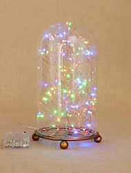 1set Colorful Christmas Light/Modern Retro Starry Sky Festival Decoration Colorful Night Light 3W-No Battery