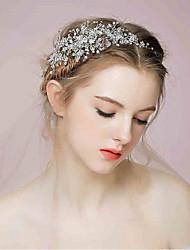 Vannerie Strass Alliage Serre-tête Accessoires pour Cheveux Casque