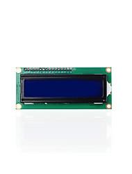 keyestudio 16x2 1602 module d'affichage i2c / twi lcd pour arduino uno r3 mega 2560 blanc en bleu