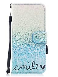 per il portabicicletta del portacarta di copertura del caso con lo stand flip modello magnetico cassa piena del corpo di paesaggio cuoio