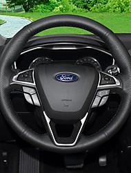 Automobile Protège Volant(Cuir)Pour Ford 2017 2013 2014 2015 2016 Mondeo Edge