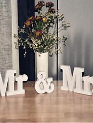 PVC Decorazioni di nozze-1Piece / Set Matrimonio Fidanzamento