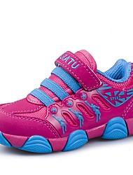 Da ragazza Scarpe Maglia traspirante TPU Autunno Inverno Comoda Primi passi Scarpette da culla Sneakers Per Casual Rosa Nero/Rosso