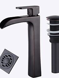Mittellage Keramisches Ventil Schwarz , Waschbecken Wasserhahn