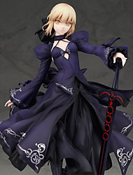 cheap -Anime Action Figures Inspired by Fate / stay night Saber PVC CM Model Toys Doll Toy Men's Women's