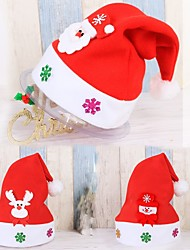 cheap -1pc People Snowmen Santa Holiday Storage Bag Bandanas & Hats Ornaments Holiday, Holiday Decorations Holiday Ornaments