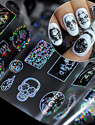 1 Autocollant d'art de clou Autre Maquillage cosmétique Nail Art Design