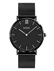 cheap -SKMEI Men's Quartz Wrist Watch Japanese Water Resistant / Water Proof Stainless Steel Band Luxury Dress Watch Minimalist Fashion Cool
