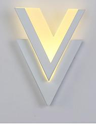 Недорогие -LED Модерн Настенные светильники Назначение Акрил настенный светильник 220-240Вольт 10W