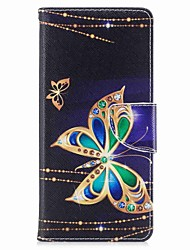 cheap -Case For Samsung Galaxy Note 8 Wallet Card Holder with Stand Flip Pattern Magnetic Full Body Butterfly Hard PU Leather for Note 8