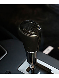 Automotive Vehicle Shift Knob Refit(Carbon Fiber Plastic)For Toyota 2016 RAV4