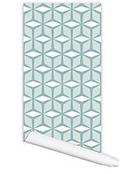 Padrão Papel de Parede Para Casa Moderno/Contemporâneo Revestimento de paredes , PVC/Vinil Material Auto-adesivo papel de parede ,