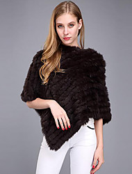 cheap -Faux Fur Wedding Party / Evening Women's Wrap Capelets Ponchos