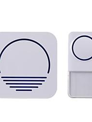 300m de largo alcance uk eu us pulg in impermeable puerta electrónica zumbador timbre timbre timbre campana venta blanco