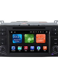 baratos -android 7.1.2 carro dvd player sistema multimídia 7 polegadas quad core wifi ex-3g dab para bmw e46 1998-2006 we7062