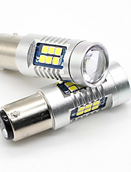 cheap -2X 1157 BAY15D 3030 LED 21SMD White BA15S P21W Tail Brake Turn Signal Ligts 15W