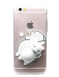 Недорогие -Назначение iPhone X iPhone 8 iPhone 8 Plus iPhone 7 iPhone 7 Plus Чехлы панели Прозрачный С узором Своими руками болотистый Задняя крышка