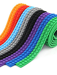 cheap -Building Block Tape Building Blocks Nimuno Loops Toys Square Seamless Soft Rubber Loop Kids 1 Pieces