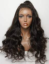 cheap -Human Hair Lace Front Wig Brazilian Hair Deep Wave Wig Layered Haircut 130% With Baby Hair / Natural Hairline / For Black Women Women's Short / Medium Length / Long Human Hair Lace Wig