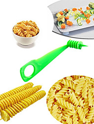 cheap -Fruit Vegetable Spiral Slicer Kitchen Cutting Carrot Cucumber Pumpkin Zucchini Pattern Carved Flowers