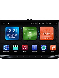 cheap -9inch 2 DIN 1024 x 600 Android 7.1 Car DVD Player  for Volkswagen High Definition Bluetooth Built-in Bluetooth GPS RDS WiFi Touch Screen