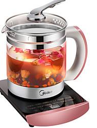 Недорогие -Стеклянный чайник Многофункциональный Высокое боровое стекло Здоровье 220V 800W Кухонная техника