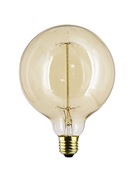 cheap -E27 G125 40W Straight Bulb Wire Bulb Bulb Edison G125 Retro Decorative Bulbs