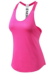 Yoga Top Quick Dry Stretchy Stretchy Sports Wear Yoga Running/Jogging Casual Women's