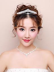 abordables -Mujer Cristal Conjunto de joyas - Incluir Blanco Para Boda / Fiesta de Noche