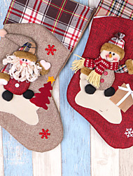 cheap -Christmas Trees Stockings Accessories Christmas Storage Holiday Decorations Ornaments Holiday Family Textile Christmas Cartoon Christmas