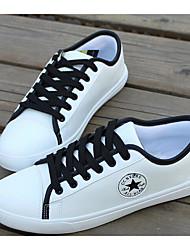 economico -Da uomo Scarpe PU (Poliuretano) Primavera Autunno Suole leggere Sneakers Per Casual Rosso Bianco/nero White/Blue