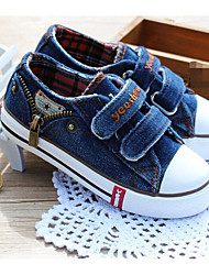 cheap -Boys' Shoes Canvas Spring / Fall Comfort Sneakers for Dark Blue / Light Blue / Burgundy