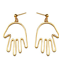 Women's Drop Earrings Fashion Simple Style Chrismas Classic Alloy Hamsa Hand Jewelry For Birthday Daily Casual Date Street