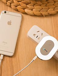 abordables -Regulable Fácil de Transportar Lámparas de Noche Cargadores Luces USB-1W-Cargador AC