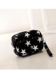 cheap -Women Bags Canvas Shoulder Bag Zipper for Casual All Seasons Blue Black Red