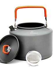 economico -campeggio bollitore bollitori di tè lega di alluminio per il campeggio picnic&escursioni a piedi