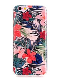 economico -Custodia Per Apple iPhone X iPhone 8 iPhone 8 Plus Ultra sottile Transparente Fantasia/disegno Custodia posteriore Fiore decorativo