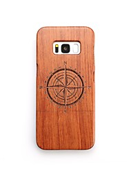 cheap -Case For Samsung Galaxy S8 Plus S8 Shockproof Pattern Back Cover Geometric Pattern Hard Wooden for S8 Plus S8 S7 edge S7 S6 edge plus S6
