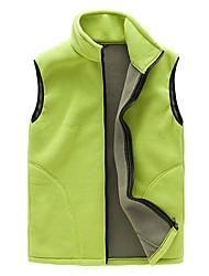 cheap -Men's Women's Hiking Vest Outdoor Winter Keep Warm Fleece Vest/Gilet Full Length Visible Zipper Running/Jogging Camping / Hiking Camping