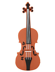Silicone Violin High Speed Shockproof 32GB USB 2.0 Flash Drive U Disk Memory Disk