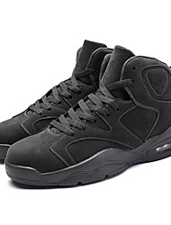 cheap -Women's Shoes PU Spring Fall Comfort Athletic Shoes Basketball Shoes Round Toe Mid-Calf Boots Lace-up For Athletic Black Gray Khaki