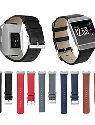 Недорогие -для fitbit ионный кожаный ремешок smart watch band замена браслет для фитнеса трекер ленты для ремня