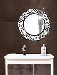 Mirrors Fashion 3D Wall Stickers 3D Wall Stickers Mirror Wall Stickers Decorative Wall Stickers,Acrylic Material Home Decoration Wall
