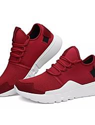 Homme Chaussures Automne Confort Marche pour Décontracté Noir Gris Rouge