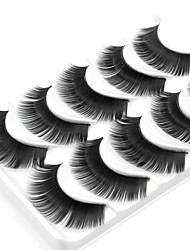 cheap -5 Daily Makeup Full Strip Lashes Thick Natural Long Makeup Tools High Quality Daily