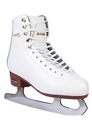 cheap -Kid's Figure Skates Ice Skates Cowhide Trainer Wearable Beginner Leisure Sports White