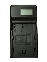 ismartdigi el3e lcd usb carregador de bateria da câmera móvel para nikon el-el3e a d90 d80 d300s d300 d700 d200 - preto